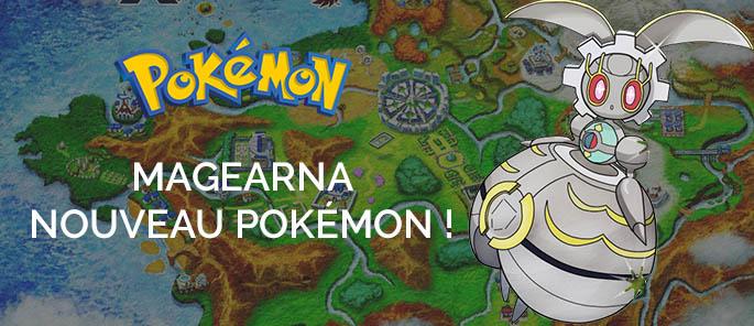 Nouveau Pokémon : Magearna ! Un pas vers la 7ème génération ?