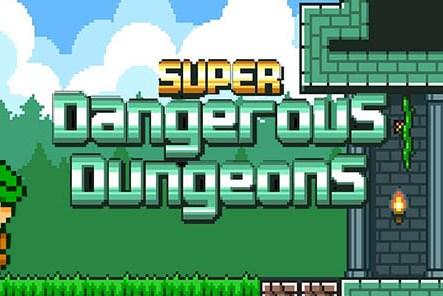 Super Dangerous Dungeons Converture