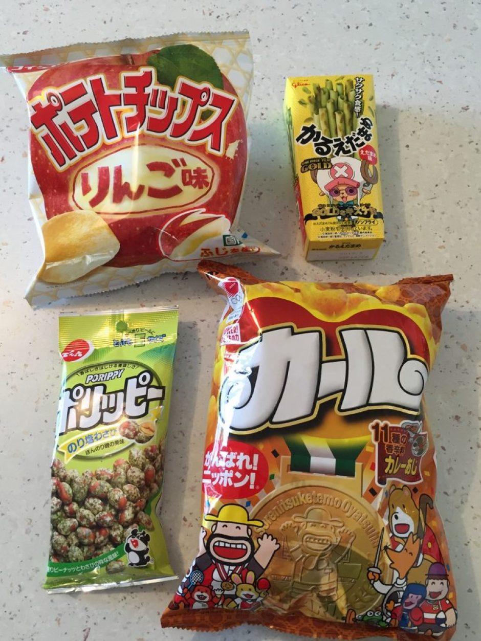 umaibox snacks salés chips