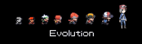 evolution character