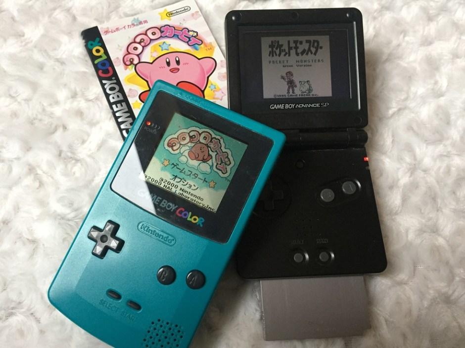 Jeux Game Boy Japonais Pokémon Kirby