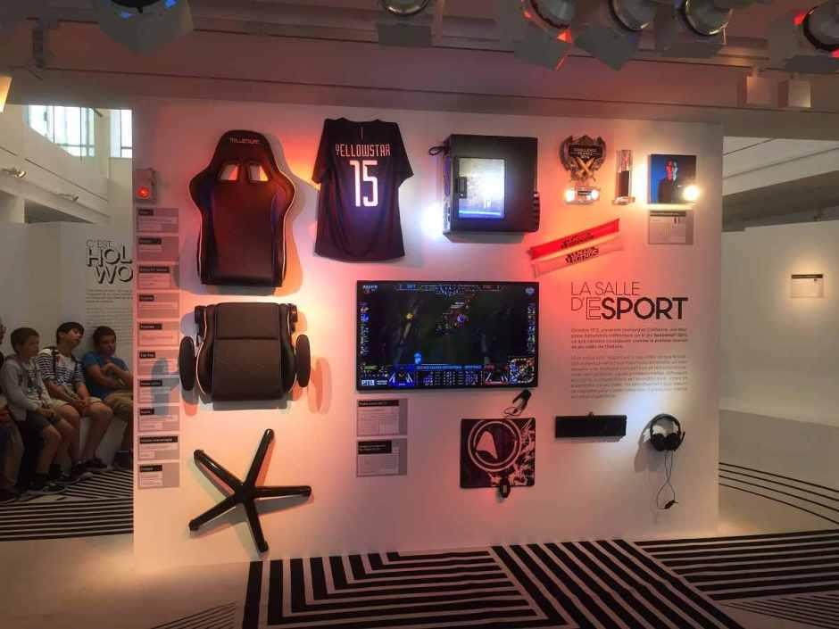 Game exposition e-sport