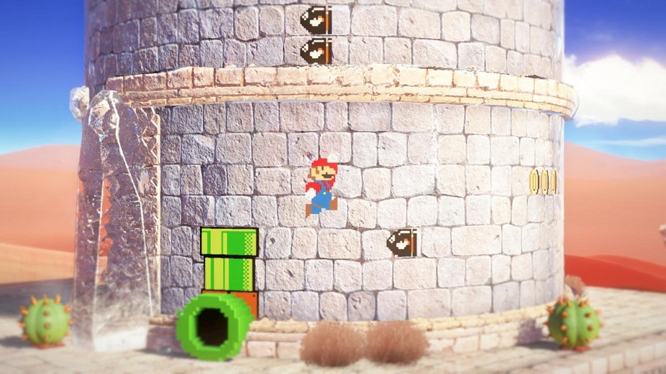 Mario Odyssey 2D