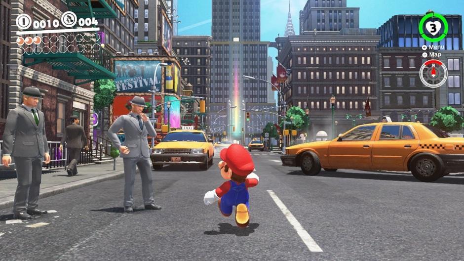 Mario Odyssey Ville