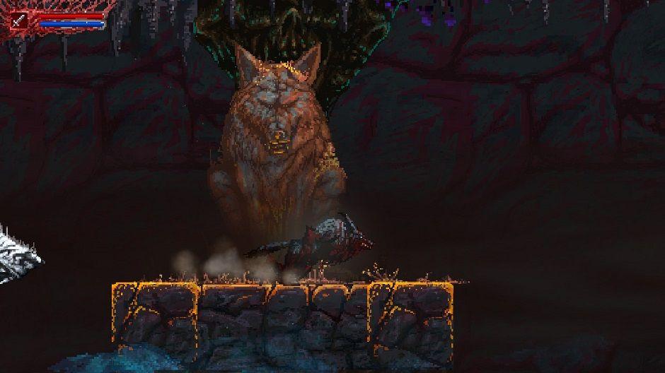 Slain Back From Hell Loup