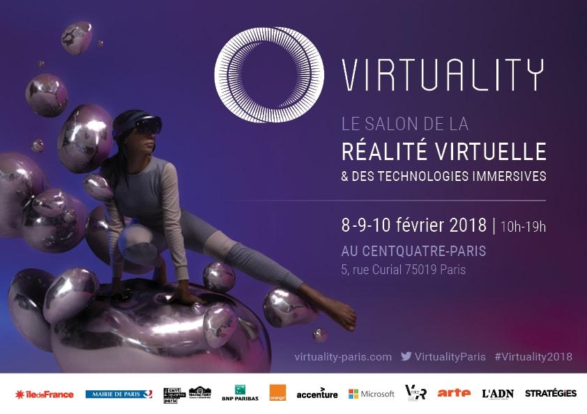 Virtuality 2018 : notre expérience au salon de la VR et des technologies immersives