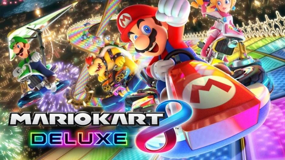 jeux video couple mario kart 8