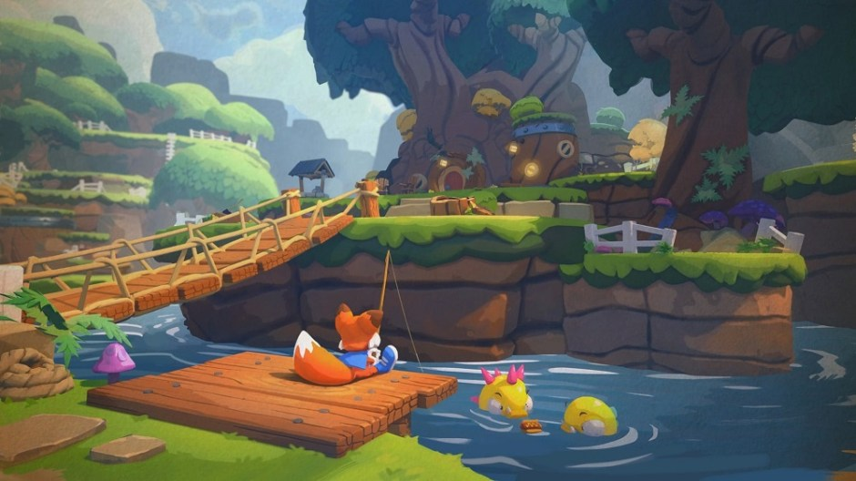 Super Lucky's Tale histoire