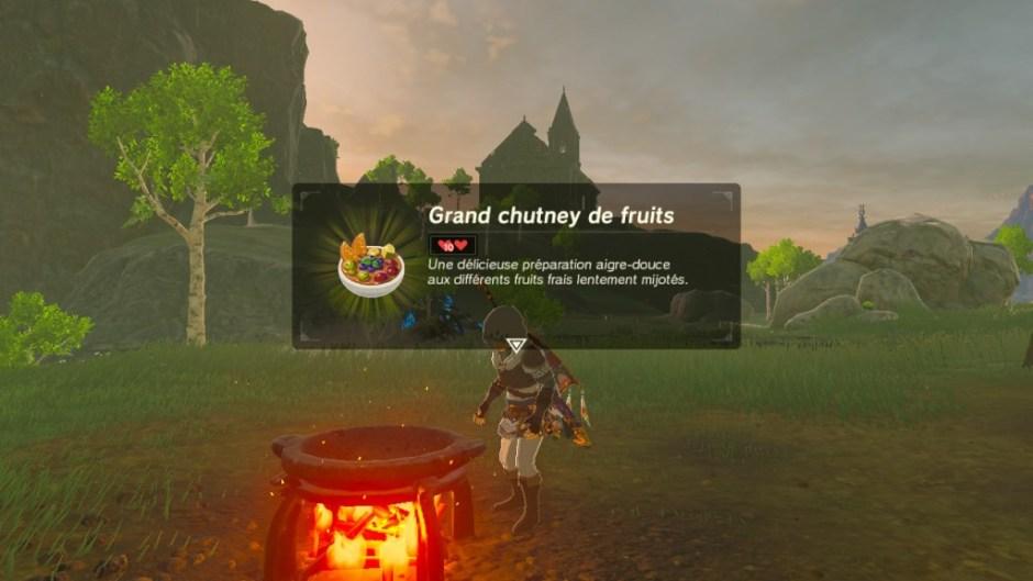 Zelda BotW Cooking