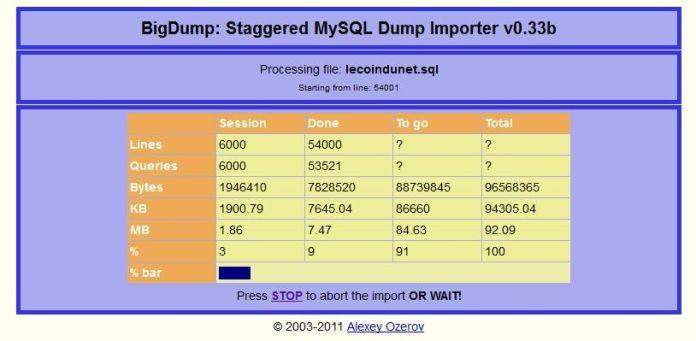 big_dump