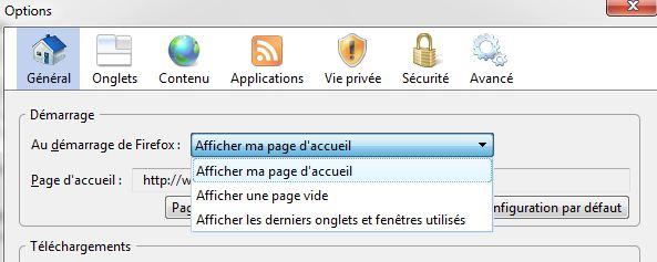 Sauvegarder les onglets avant de fermer Firefox