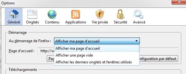 Firefox sauvegarder onglets 1