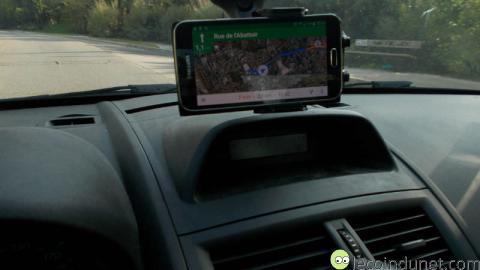 Samsung EE-V200 - Test en voiture