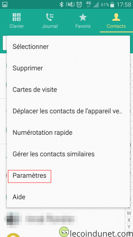 Exporter Vos Contacts Android Sur La Carte SD Ou Memoire Interne