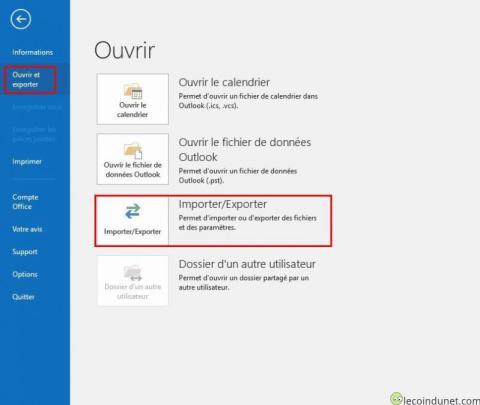 Outlook - Importer exporter