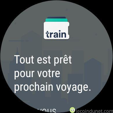 Trainline - Android Wear