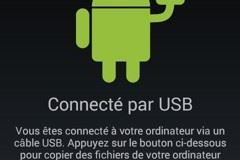 Android - Activer mémoire sotckage USB