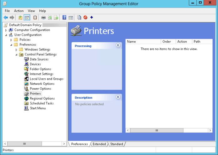 Comment ajouter une imprimante par GPO ?