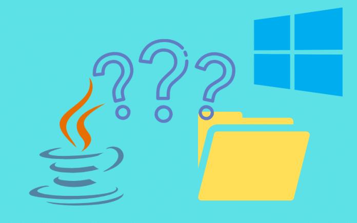 Trouver l'emplacement de Java dans Windows 10