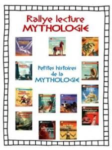 rallye lecture mythologie - petites histoires de la mythologie
