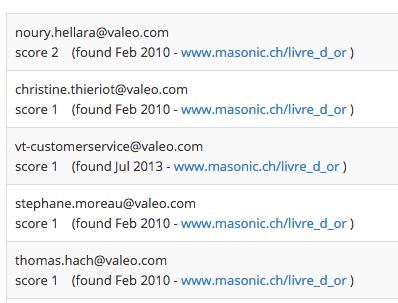 exemples de structure de mail