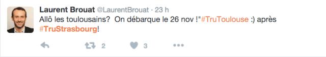 #TruStrasbourg #TruToulouse