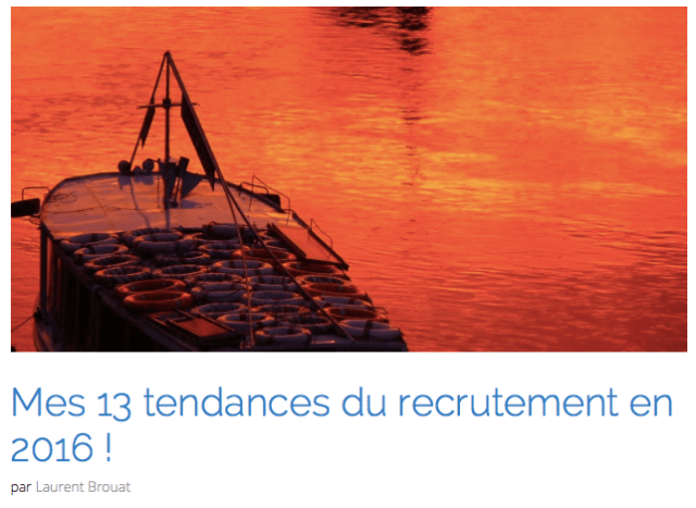 LesTendancesDuRecrutement2016