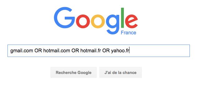 GoogleRequeteGmailYahooHotmail