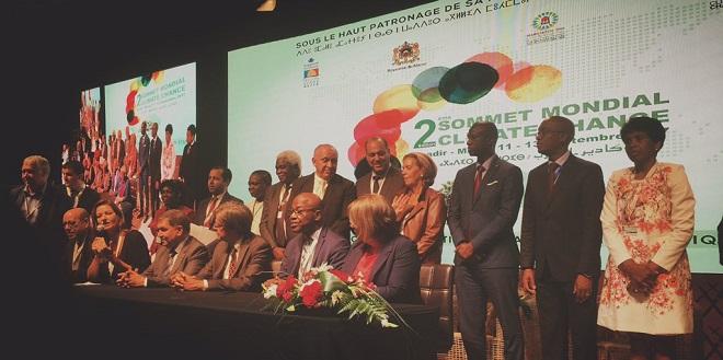Sommet mondial Climate Chance : Les élus africains s'engagent !