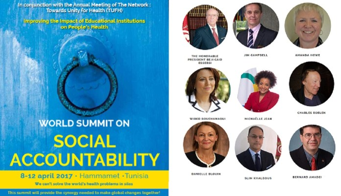 World Summit Social Accountability L'Economiste Maghrébin