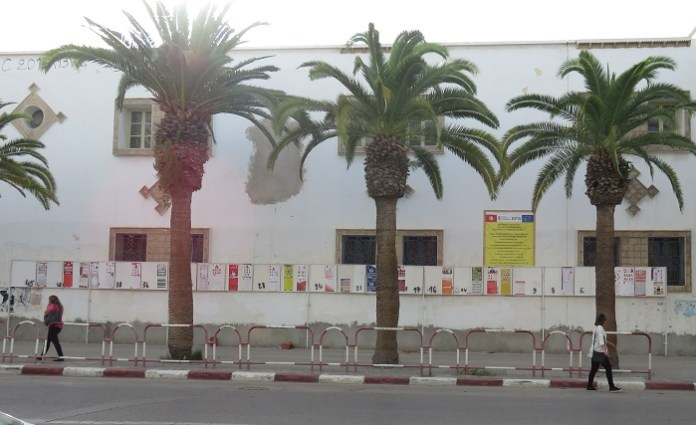 Emplacements vote Sfax