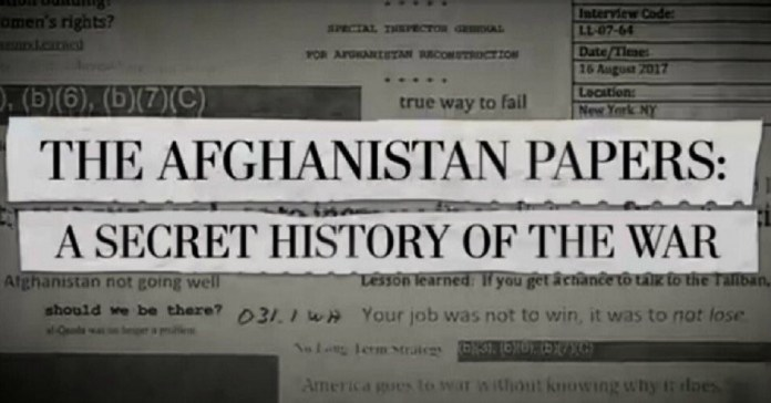 Etats-Unis Afghanistan papers