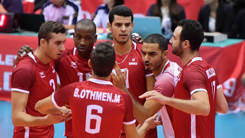 Un set sépare la Tunisie des JO 2020 — Volley-ball