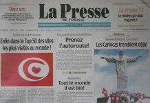 SNIPE La Presse Essahafa en Grève
