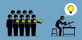 Crowdfunding startups