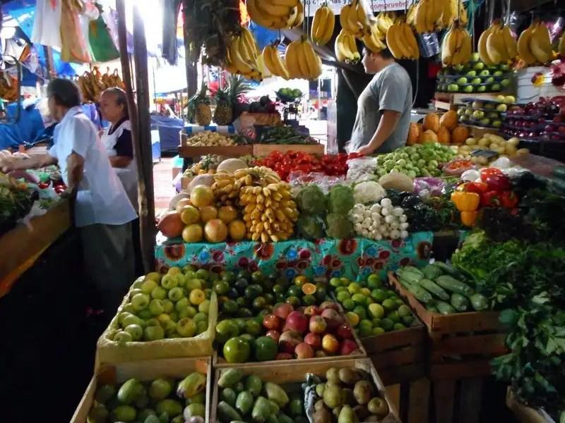 Mercado Tepozteco, Messico