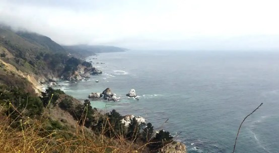 Big Sur on the road
