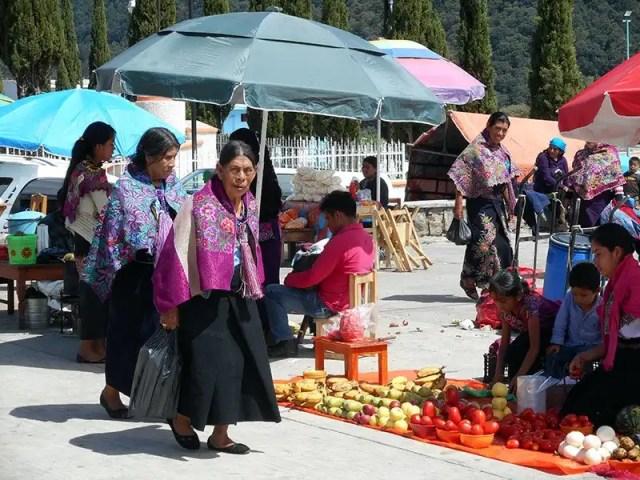 San Juan Chamula - mercato