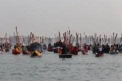 Carnevale di Venezia 2018 . Regata di apertura