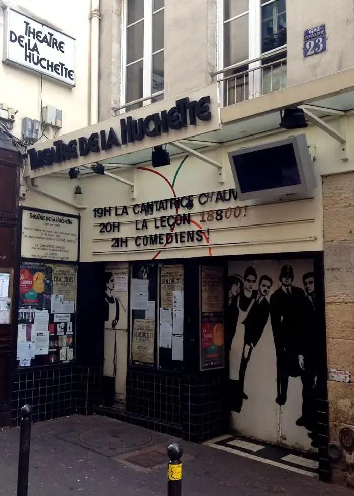 Teatro Huchette di Parigi