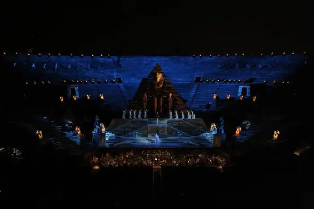 Aida di Verdi in Arena