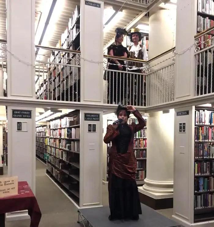Mechanics Institute Library-Emperor Norton celebration