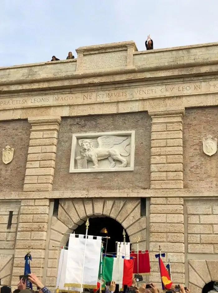 Porta Verona a Peschiera del Garda