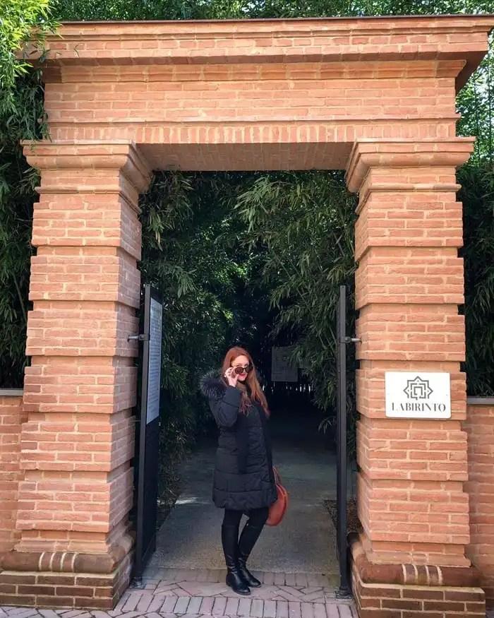 Labirinto della Masone di Fontanellato ingresso
