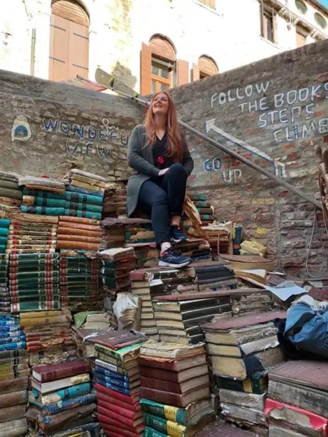 Venezia Libreria Acqua Alta