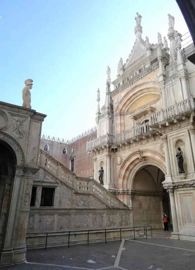 Palazzo Ducale Venezia - arco del trionfo