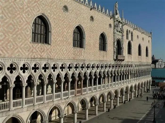 Palazzo Ducale Venezia facciata esterna