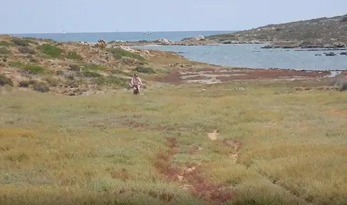Asinara in bicicletta