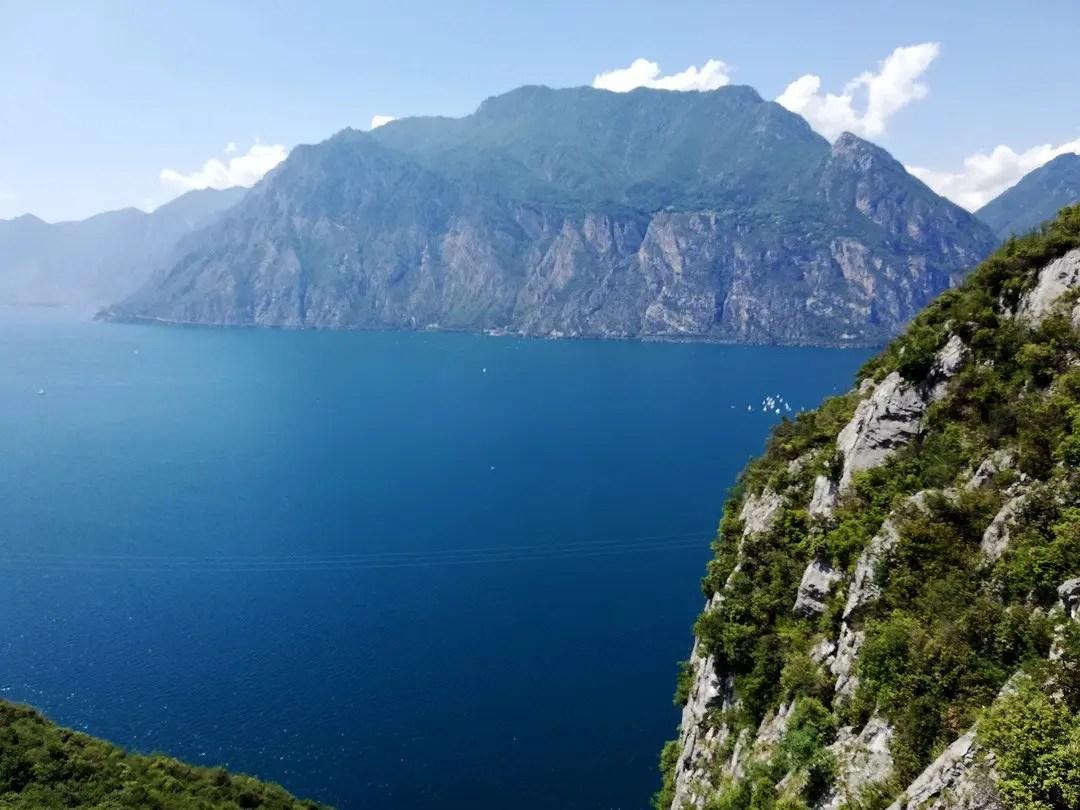 camminata Busatte Tempesta sul Lago di Garda