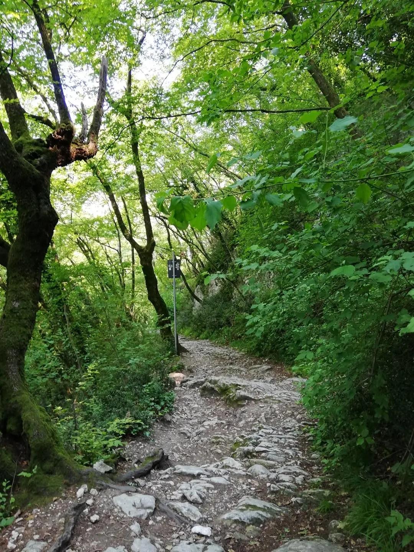 La Rocca di Garda passeggiata